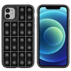 iMoshion Cover Pop It Fidget Toy iPhone 12 (Pro) - Nero