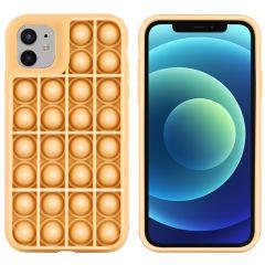 iMoshion Cover Pop It Fidget Toy iPhone 12 (Pro) - Oro