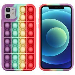 iMoshion Cover Pop It Fidget Toy iPhone 12 (Pro) - Multicolore