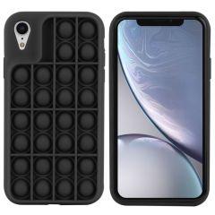 iMoshion Cover Pop It Fidget Toy iPhone Xr - Nero