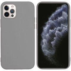 iMoshion Cover Color iPhone 12 (Pro) - Grigio