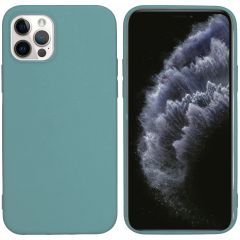 iMoshion Cover Color iPhone 12 (Pro) - Verde scuro