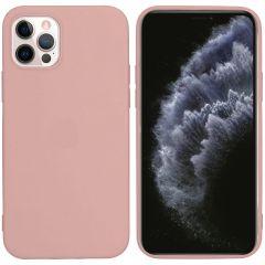 iMoshion Cover Color iPhone 12 (Pro) - Rosa chiaro