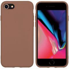 iMoshion Cover Color iPhone SE (2020) / 8 / 7 - Marrone