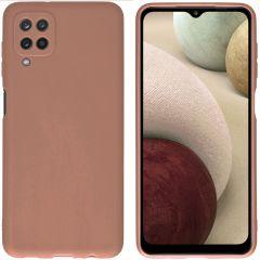 iMoshion Cover Color Samsung Galaxy A12 - Marrone