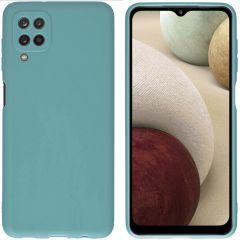 iMoshion Cover Color Samsung Galaxy A12 - Verde scuro