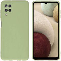 iMoshion Cover Color Samsung Galaxy A12 - Verde