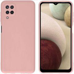 iMoshion Cover Color Samsung Galaxy A12 - Rosa chiaro