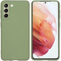 iMoshion Cover Color Samsung Galaxy S21 - Verde