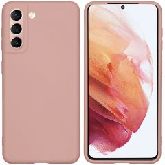iMoshion Cover Color Samsung Galaxy S21 - Rosa chiaro