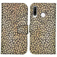 iMoshion Design Custodia a Libro Morbida Huawei P30 Lite - Allover de luxe