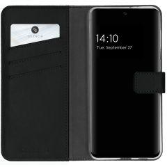Selencia Custodia Portafoglio in Vera Pelle Samsung Galaxy A32 (5G) - Nero