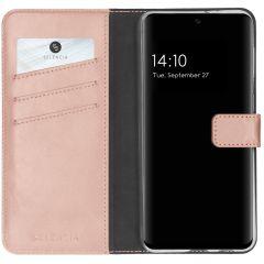 Selencia Custodia Portafoglio in Vera Pelle Samsung Galaxy A32 (5G) - Rosa