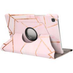 iMoshion Custodia a Libro Design Girevole a 360° Galaxy Tab A7 - Pink Graphic