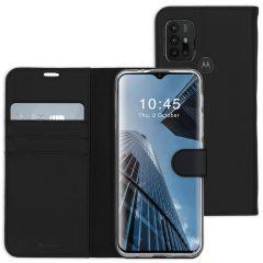 Accezz Custodia Portafoglio Flessibile Motorola Moto G30 / G20 / G10 (Power) - Nero