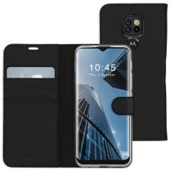 Accezz Custodia Portafoglio Flessibile Motorola Moto E7 Plus / G9 Play - Nero
