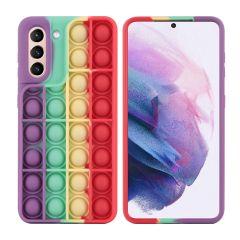 iMoshion Cover Pop It Fidget Toy Samsung Galaxy S21 - Multicolore