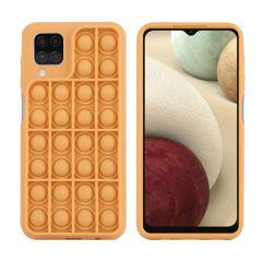 iMoshion Cover Pop It Fidget Toy Samsung Galaxy A12 - Oro