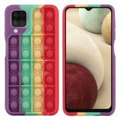 iMoshion Cover Pop It Fidget Toy Samsung Galaxy A12 - Multicolore