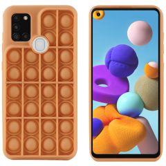 iMoshion Cover Pop It Fidget Toy Samsung Galaxy A21s - Oro