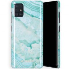 Selencia Maya Cover Fashion Samsung Galaxy A71 - Agate Turquoise