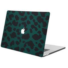 iMoshion Cover per Laptop Design MacBook Pro 16 inch  (2019) - Green Leopard