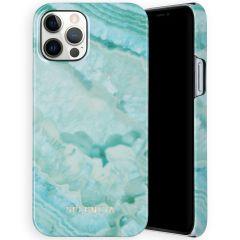 Selencia Maya Cover Fashion iPhone 12 (Pro) - Agate Turquoise