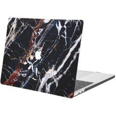 iMoshion Cover per Laptop Design MacBook Pro 15 inch (2016-2019) - Black Marble