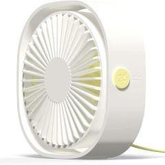 iMoshion USB Ventilatore da tavolo - Bianco