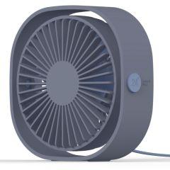 iMoshion USB Ventilatore da tavolo - Blu