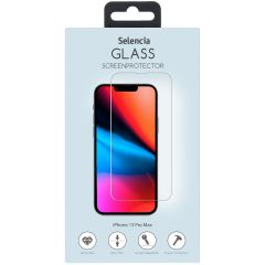 Selencia Pellicola Protettiva in Vetro Temperato iPhone 13 Pro Max