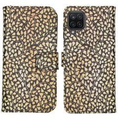 iMoshion Design Custodia a Libro Morbida Samsung Galaxy A12 - Allover de luxe