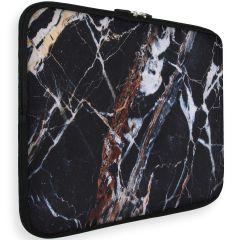 iMoshion Design Sleeve Universale 15 inch -  Black Marble
