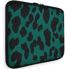 iMoshion Design Sleeve Universale 15 inch -  Green Leopard