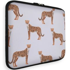 iMoshion Design Sleeve Universale 15 inch -  Cheetah