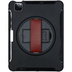 iMoshion Defender Custodia protettiva con cinturino iPad Pro 11 (2018-2020-2021) - Nero