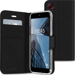 Accezz Custodia Portafoglio Flessibile Samsung Galaxy Xcover 5 - Nero
