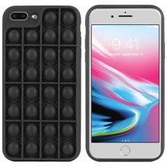 iMoshion Cover Pop It Fidget Toy iPhone 8 Plus / 7 Plus - Nero