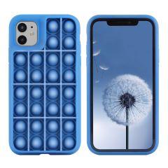 iMoshion Cover Pop It Fidget Toy iPhone 11 - Blu scuro