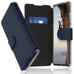 Accezz Xtreme Custodia Portafoglio Samsung Galaxy S21 FE - Blu scuro