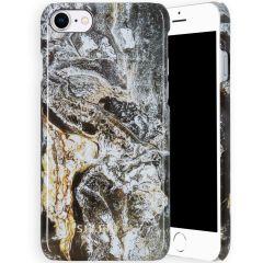 Selencia Maya Cover Fashion iPhone SE (2020) / 8 / 7 / 6(s) - Quartz Black