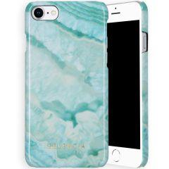 Selencia Maya Cover Fashion iPhone SE (2020) / 8 / 7 / 6(s) - Agate Turquoise