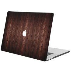 iMoshion Cover per Laptop Design MacBook Pro 16 inch  (2019) - Dark Brown Wood
