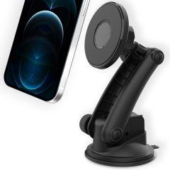 Accezz Porta cellulare MagSafe auto - Cruscotto / Parabrezza - Nero