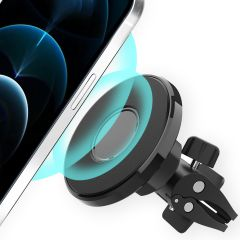 Accezz Porta cellulare MagSafe auto - Griglia di ventilazione - Nero